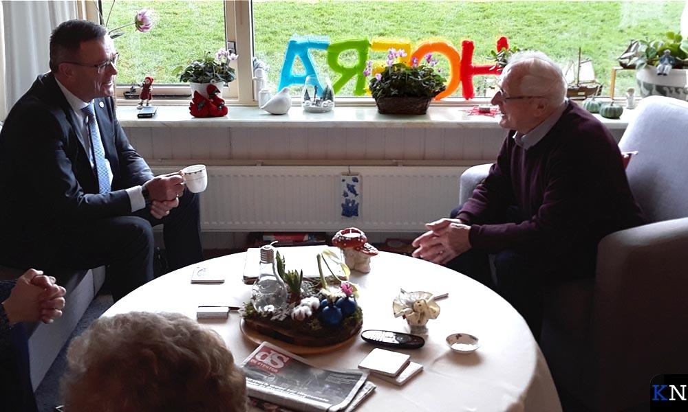 Gerrit Jan Veldhoen in gesprek met Willem Albers.