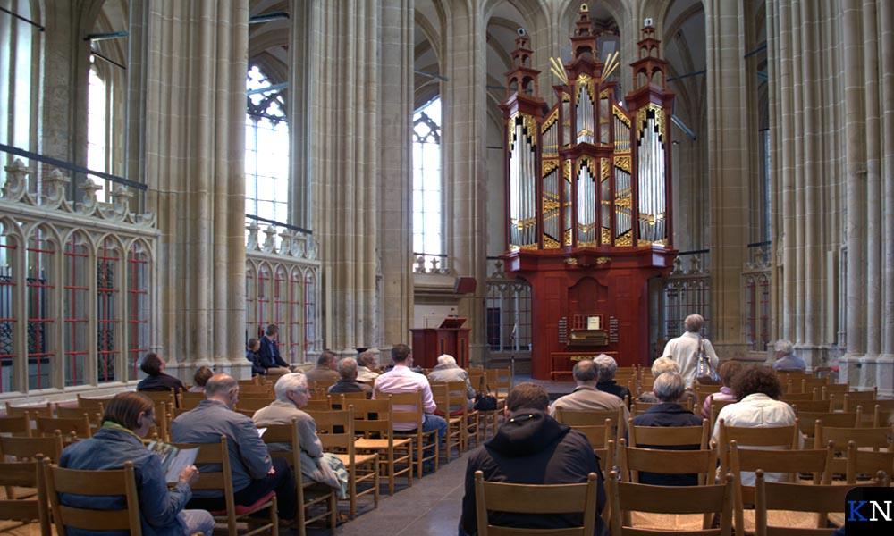 Het koor in de Bovenkerk waar Henrie Vogels aan de slag zal gaan.