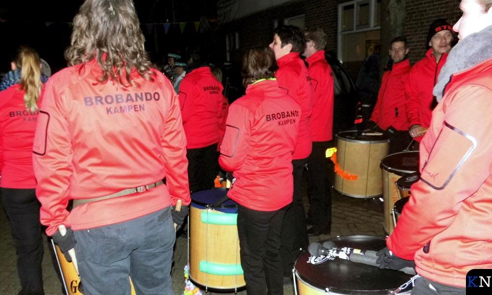 Percussiegroep Brobando in de oude kleuren (archieffoto).