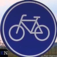 Einde fietspad Kamperveen: Welkom in Oldebroek