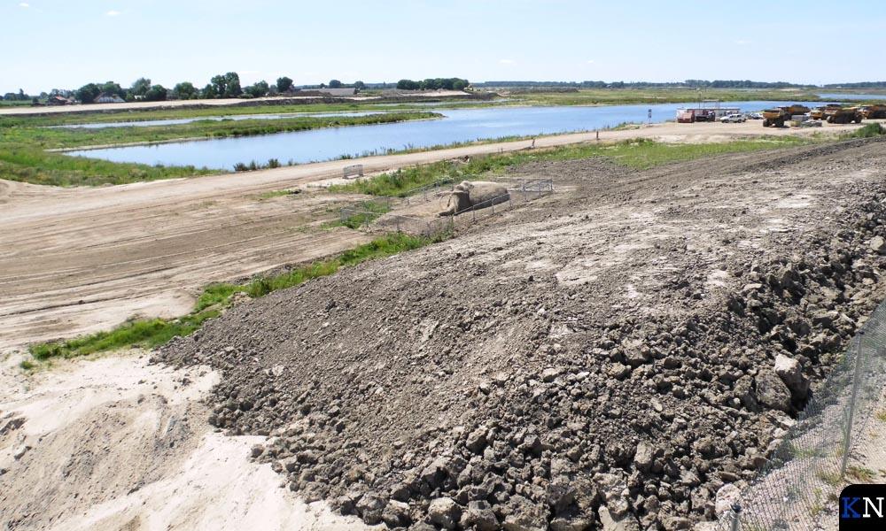 Zoals bij Veessen-Wapenveld is er ook bij Kampen een enorm gebied op de schop gegaan voor Ruimte voor de Rivier.