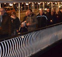 Stille tocht houdt herinnering aan deportatie Joden uit Kampen levend