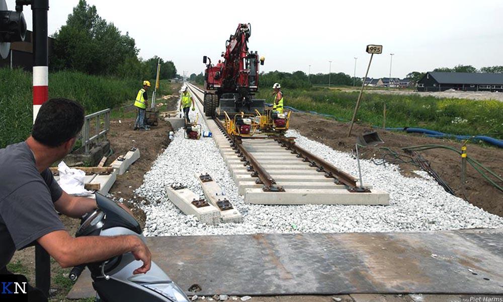 Alles aan het spoor tussen Kampen en Zwolle is vernieuwd.