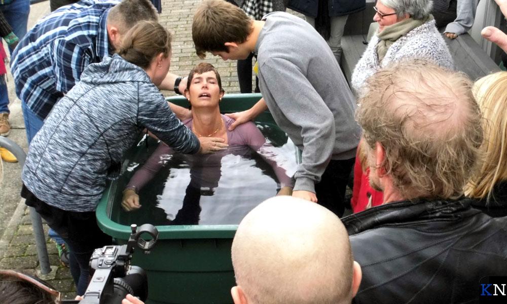 De doop van Amanda bij De Laatste Reformatie maakte indruk op menige aanwezige.