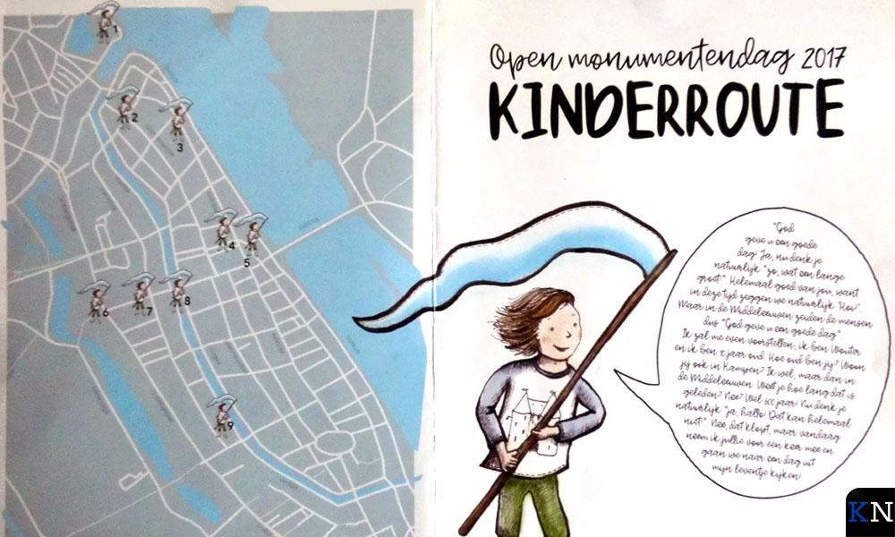 Kinderuitnodiging voor Open Monumentendag 2017.