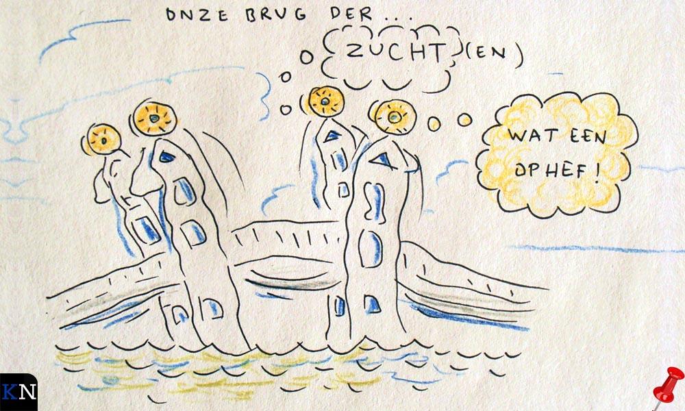 Volgens Prikje is de Stadsbrug van Kampen verkocht aan Van Pijkeren.