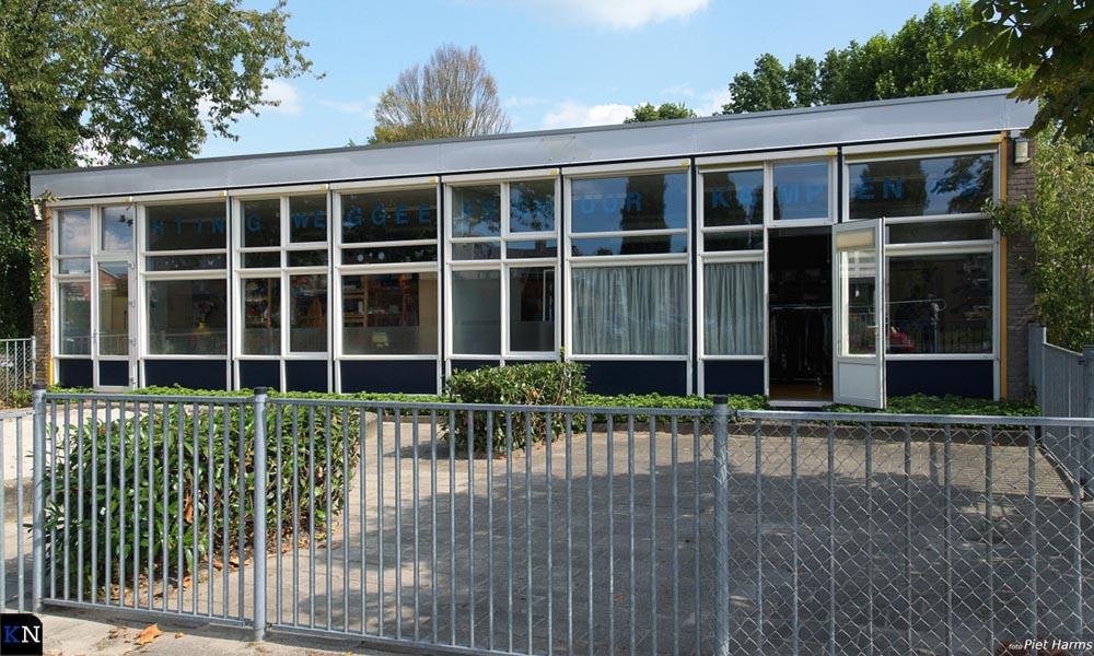 Voormalige basisschool Het Vizier herbert nu onder andere de Weggeefschuur.