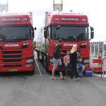 Wezenberg assisteert bij de toegangsblokkade vanaf de Stadsbrug.