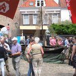 Hanzestad Elburg presenteert zich op de Koornmarkt.
