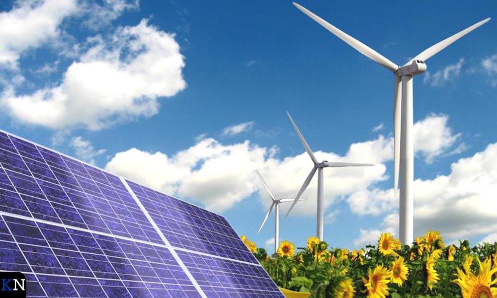 Voorbeelden van opwekkingsbronnen voor duurzame energie.