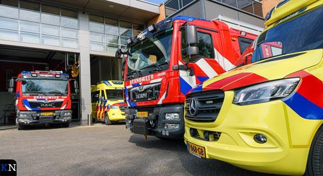 Ambulance gehuisvest in Kamper brandweerkazerne