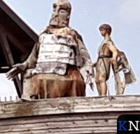 Verhaal Bijbel kunstig verbeeld op ark in Elburg (video)