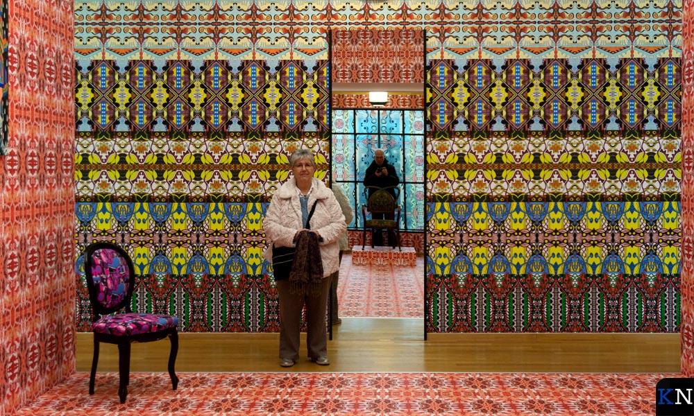 Art Nouveau van Christie van der Haak in Gemeentemuseum Den Haag.