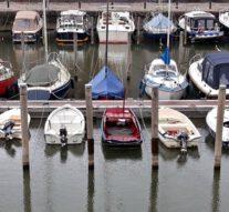 Gratis roeien met het bootje van Bart