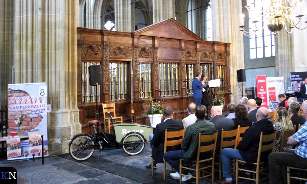Roeland Tameling opende het Business Event Kampen drie jaar geleden.