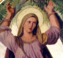 Naamdag kerkheilige St. Corona (video)