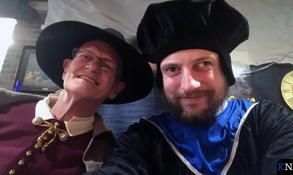 Jeroen Linderhof tijdens Sail Kampen.