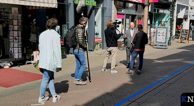 Danny Ghosen op stap met camerateam in Kampen