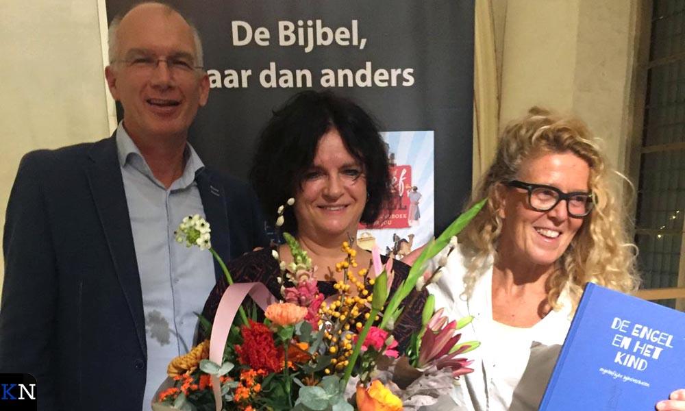 V.l.n.r. Pieter de Boer, Willeke Brouwer en Brigitte Wolthuis