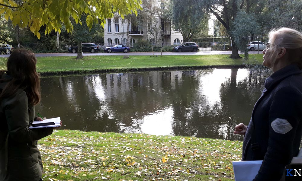 Villa Poortenaar in het Kamper Stadspark.