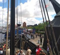 Openingsceremonie en historische lossing in Rostock afgelast (video)