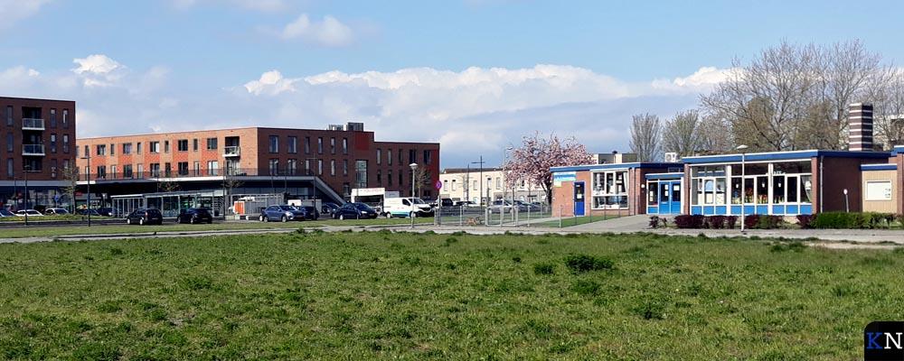 Het zogenoemde centrumgebied-noord van de nieuwe Hanzewijk naast de wijk Brunnepe in Kampen.