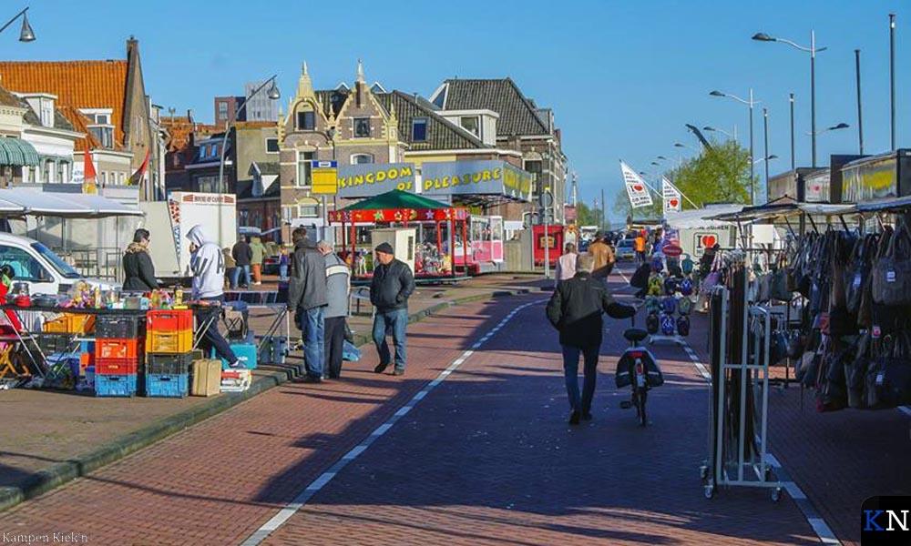 Als alternatieve locatie week De Heugte vorig jaar uit naar de IJssel- en Buitenkade.
