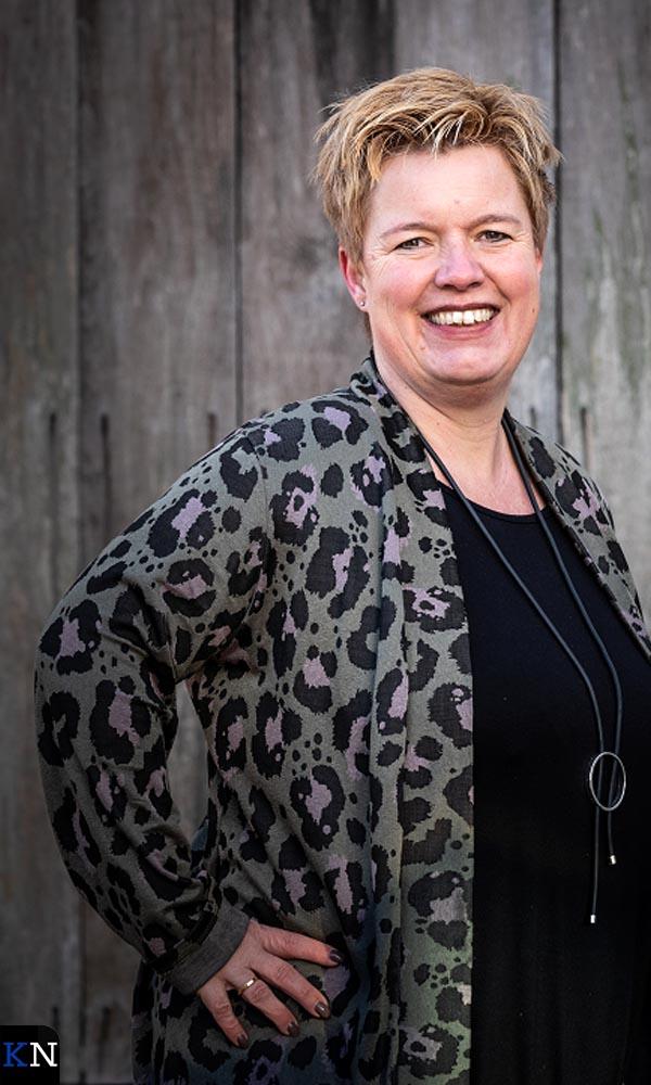 De nieuwe Kamper evenementencoördinator Aline Hofstee.