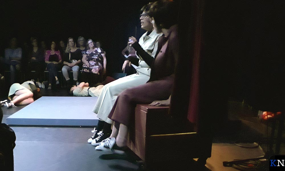 Emoties volop tijdens het muziektheater.