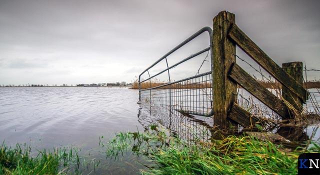 Waterpeilen stabiliseren maar blijven hoog