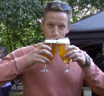 Wijn en bier centraal in Stadspark als proeflokaal (video)