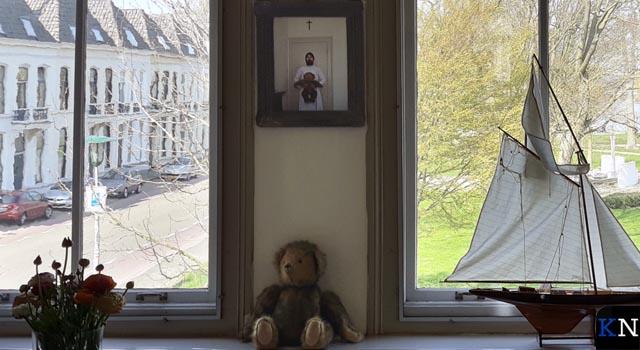 Ursula geeft artistieke invulling aan Open Huizen Dag (video)