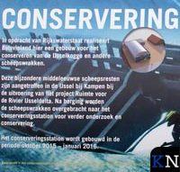 Berging IJsselkogge:<br>Conserveringshal volop in aanbouw