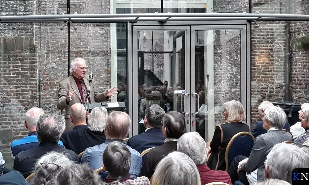 Herman Pleij verzorgde een lezing tijdens het lustrum van het Ikonenmuseum.