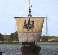 Kamper Kogge terug van Sail Den Helder