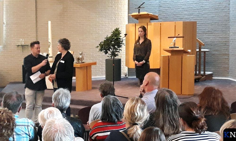 Inleiders op het thema aan het begin van de bijeenkomst Kampen Armoedevrij.