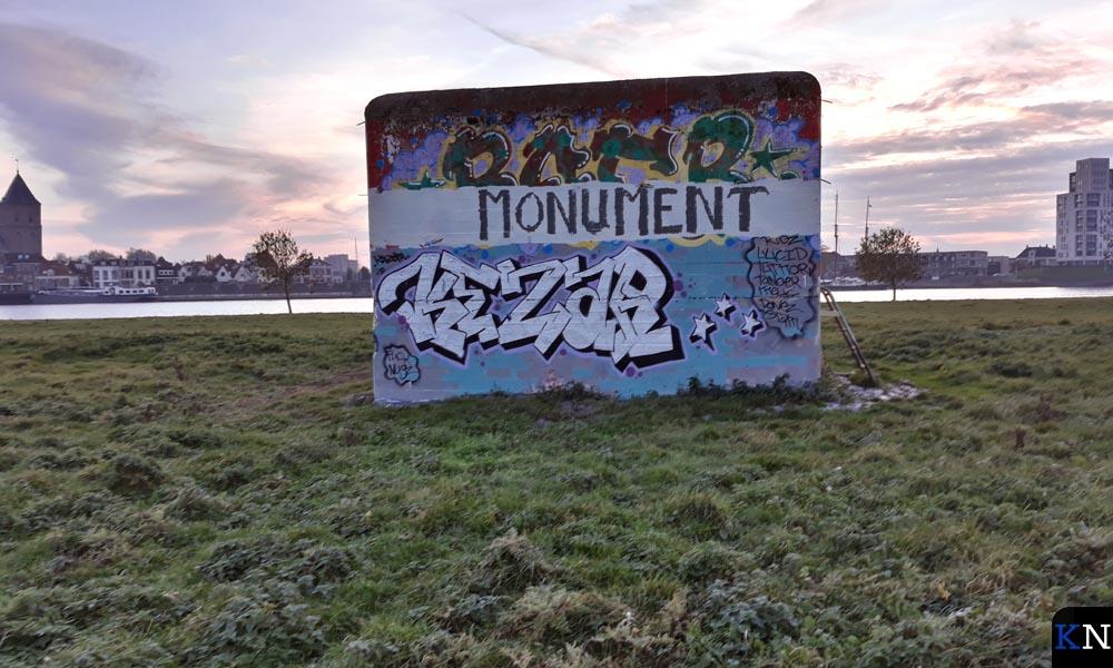 De enige resterende kazemat van Kampen is een gemeentelijk monument.