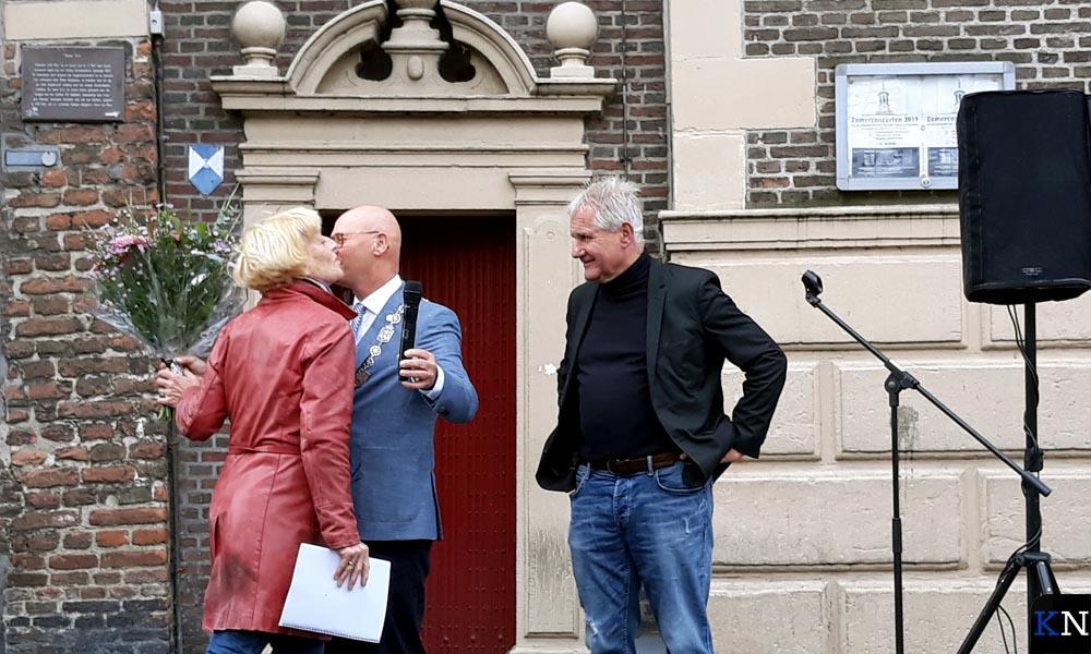 Gerrie Kragt, Bort Koelewijn en Jan Liefting (v.l.n.r.) bij de KiOK-kick-off.