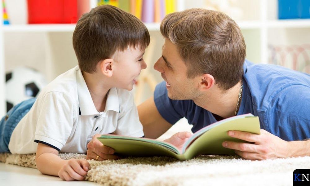 Vaders kunen ook voorlezen.