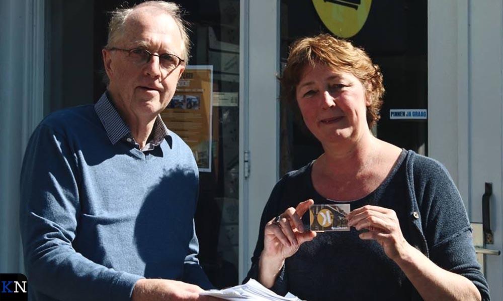 Gerard Wessels & Liesbeth van der Wolde voor de Kringloop in IJsselmuiden.