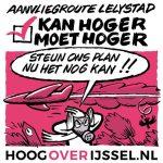 De actiepoaster van de actiegroep in Overijssel.