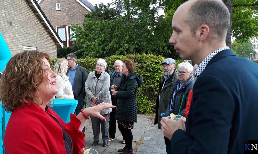 Esther Meijer en Geert Meijering toosten op Anywine.
