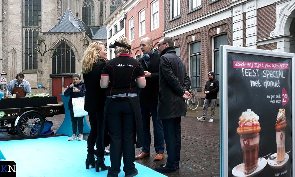 De hoofdrolspelers met v.l.n.r. Aukje Grouwstra, Judith van der Weerd, Geert Meijering en Roeland Tameling.