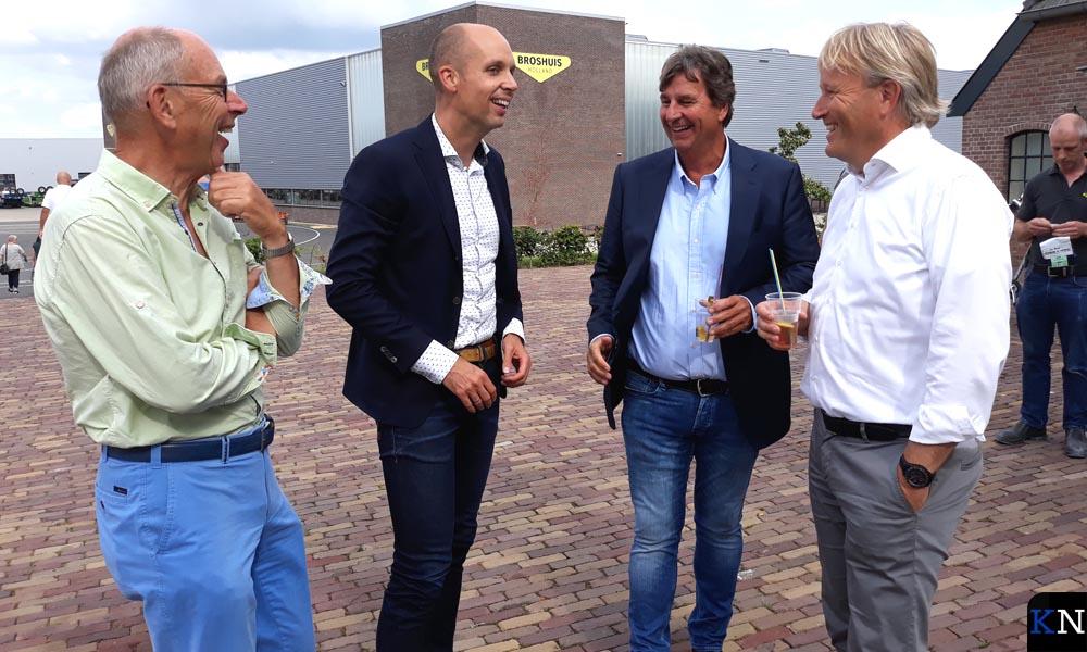 V.l.n.r. Jan., Geert Meijering, Pieter-Bas Broshuis, Harold Vorsteveld