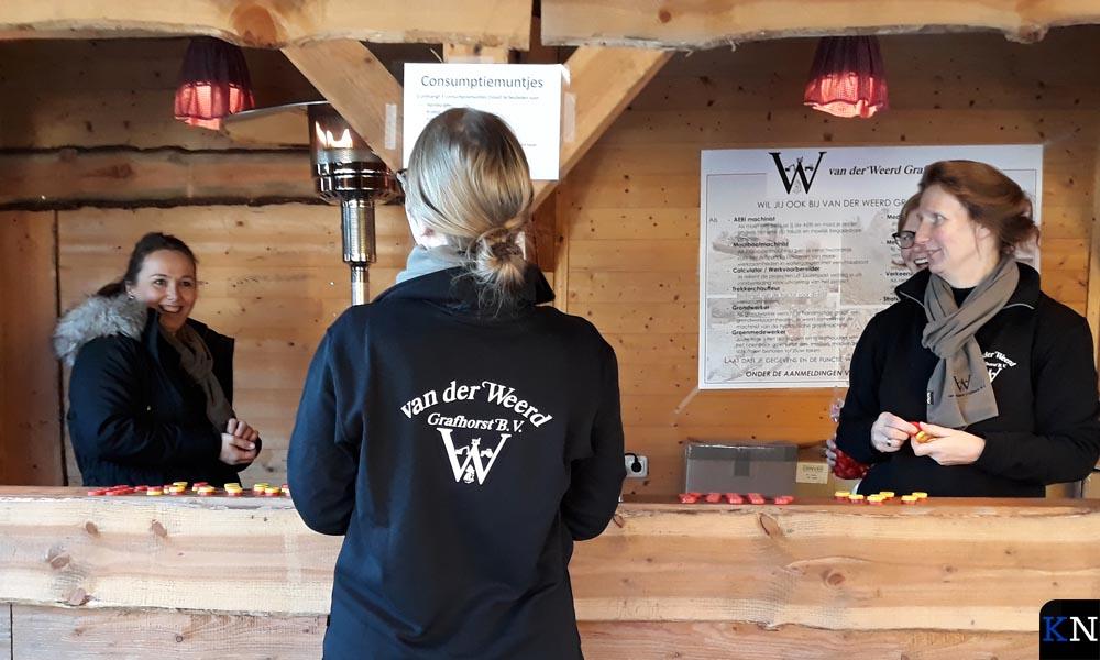 Een skihut vormde de entree tot het nieuwe bedrijfsterrein van Van der Weerd Grafhorst B.V.