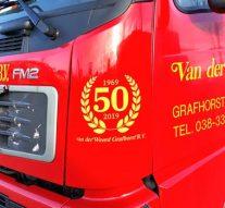 Groot feest bij Van der Weerd in Grafhorst (video)