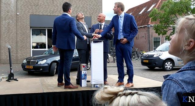 Drie ondernemingen vestigen Kamper afdeling in Meeuwenstaete (video)