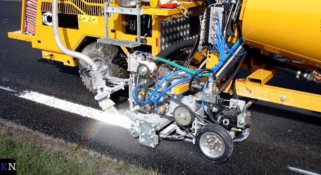 Nieuwe wegmarkering N50 om attentiewaarde te verhogen