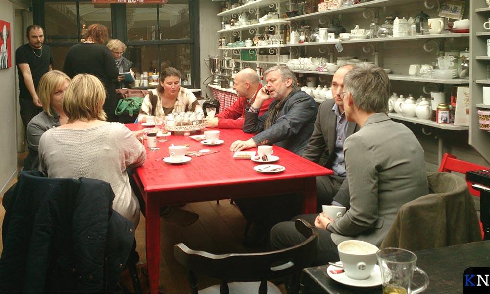 Na de rondvaart wordt deze bijeenkomst van Open Coffee Kampen afgesloten bij Kamper Genot.