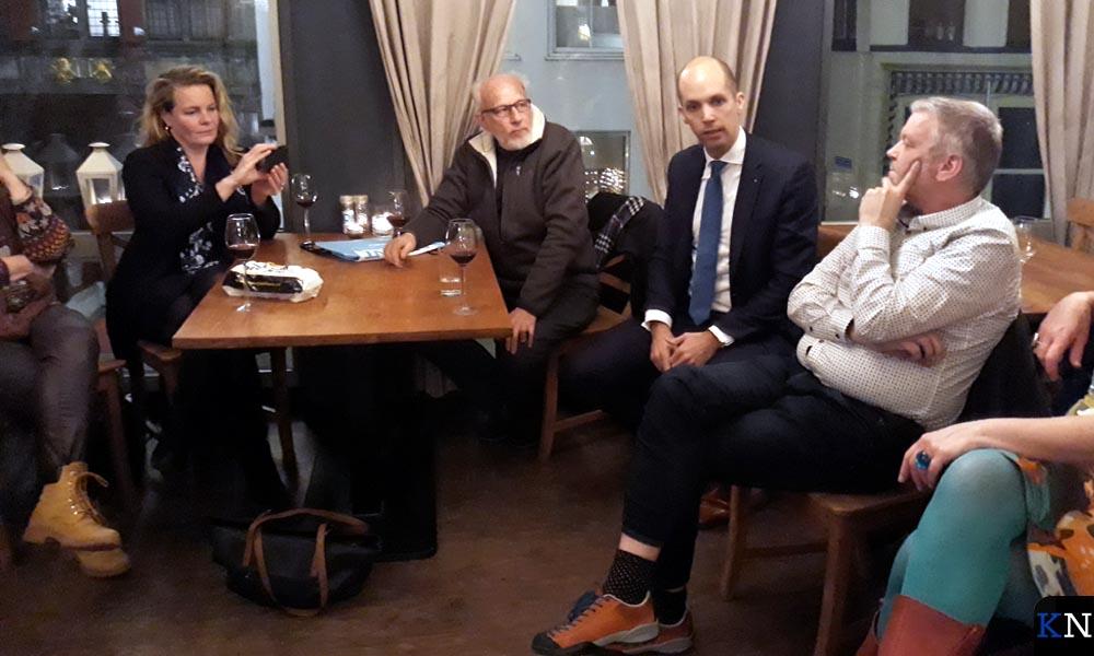 V.l.n.r. Grouwstra, Helleman, Meijering en Koster.